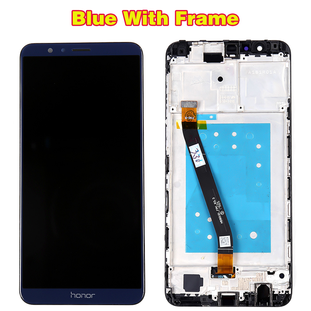 HTB1RbhRR3HqK1RjSZFgq6y7JXXaU Huawei Honor 7X BND-L21 BND-L22 BND-L24 5.93 inch LCD display For Mate SE Touch Screen Digitizer Assembly Frame With Free Tools