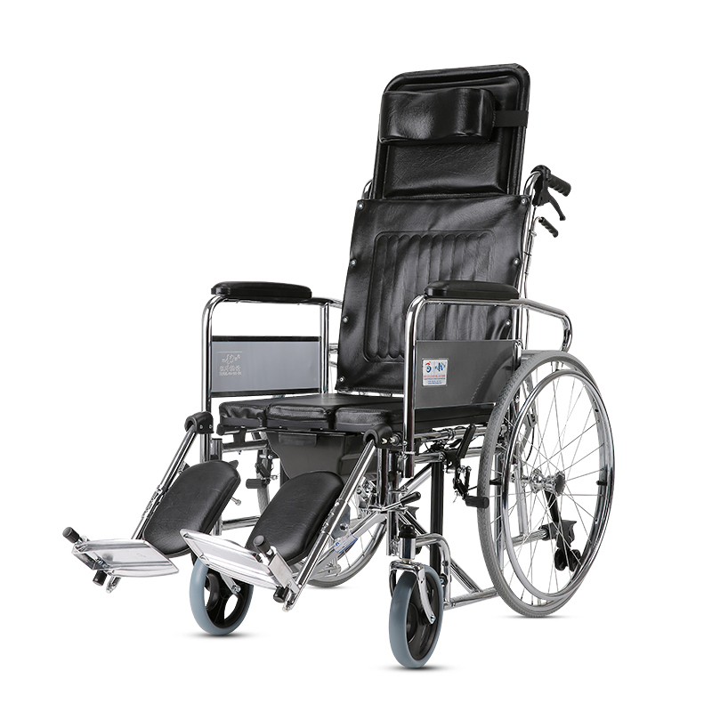 Kaiyang Can All Lie High Back The Elderly The Disabled People With a Stool Wheelchair Light