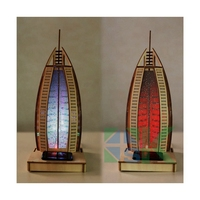 Wooden Ship Models Kits Educational Toy Model-Ship-Assembly DIY Model Wood 3d Famous building Sailboat hotel