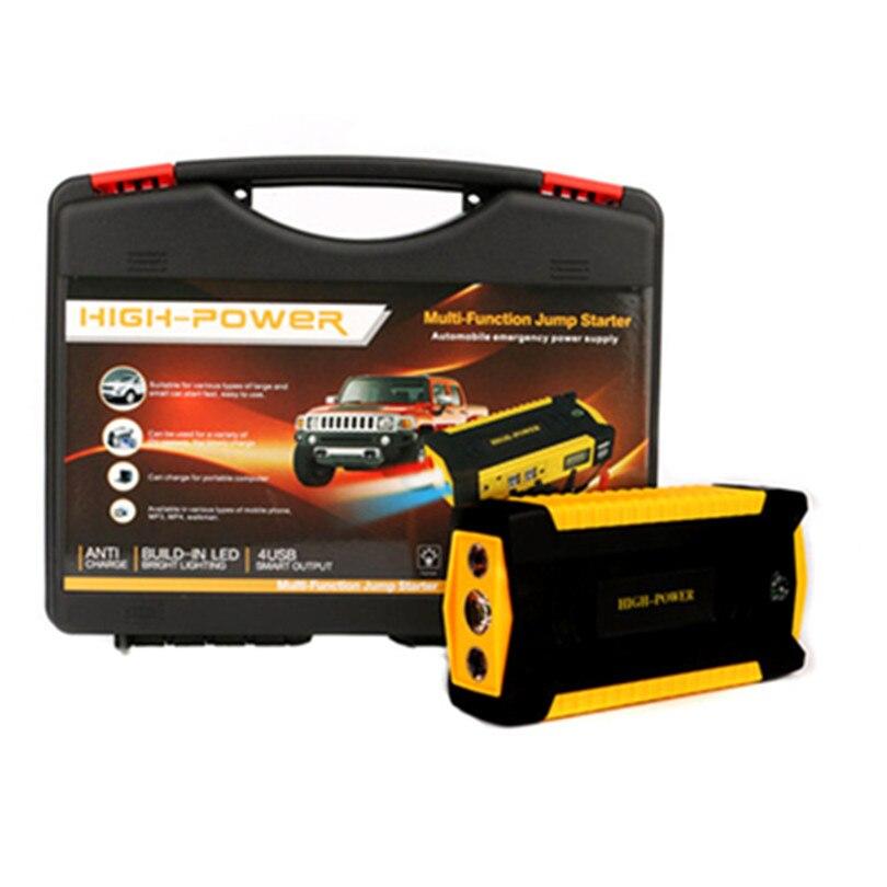 Супер Мощность автомобиль скачок стартер Мощность банк 600A Портативный 16000 мА/ч, автомобильный усилитель Зарядное устройство 12V пусковое устройство бензин дизельный автомобиль стартер - Цвет: Plastic Case packing