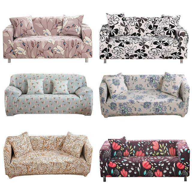 Fine Us 9 96 1Pcs Flower Leaf Soft Stretch Sofa Cover Home Decor Spandex Furniture Covers Decoration Covering Hotel Slipcover 58061 In Sofa Cover From Ncnpc Chair Design For Home Ncnpcorg