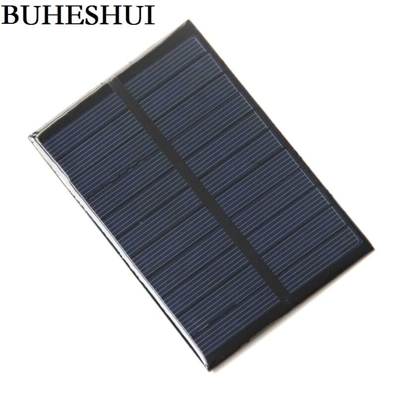 cf08507ada93b BUHESHUI 1.8 W 5.5 V Célula Solar Painel Solar DIY Carregador Solar  Policristalino Solar Module123   83 3 MM alta Qualidade Frete grátis