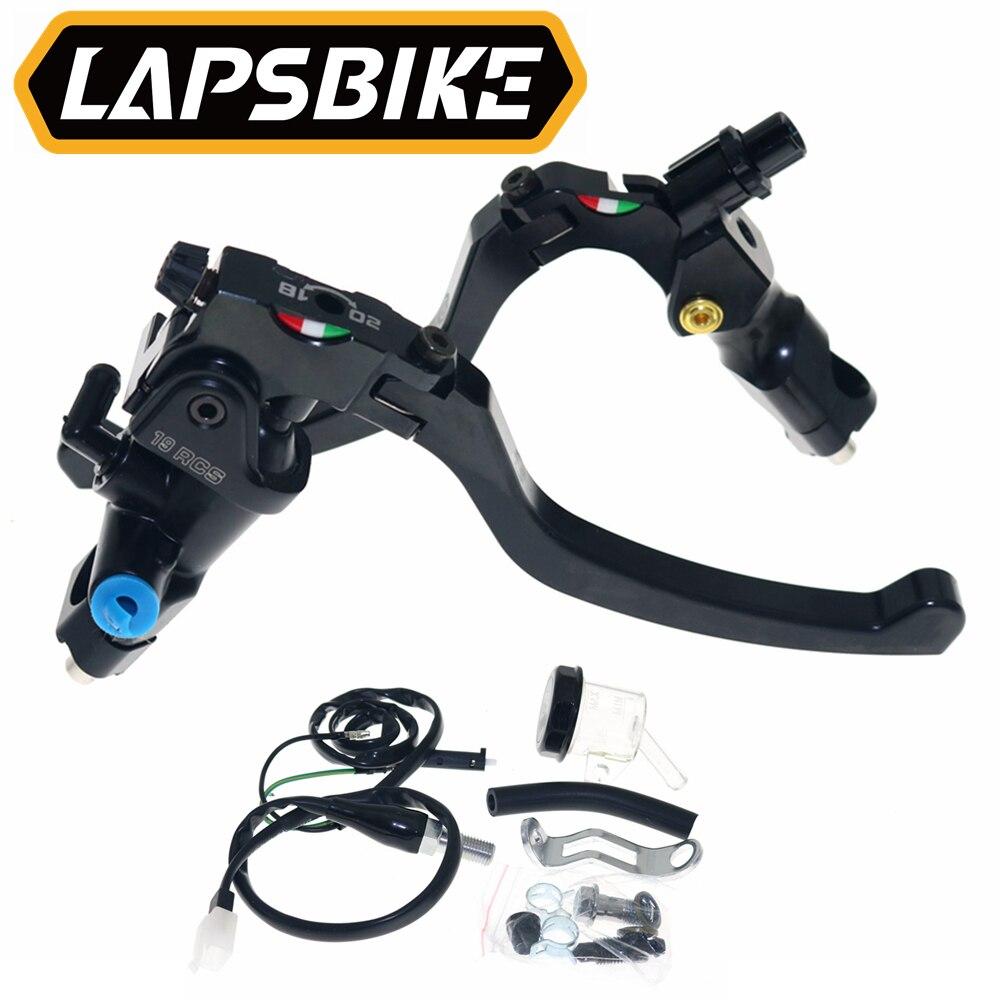 Leviers lever flip-up foldable repliable titanium Honda CB 500 1991-1996