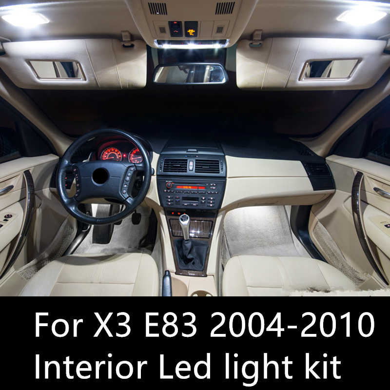 Interior Light Kit Package For Bmw X3