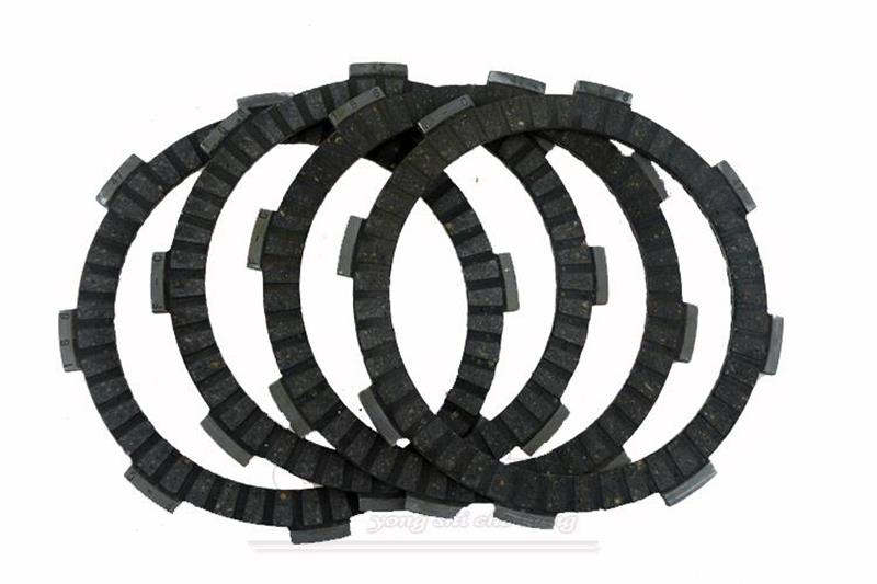 Motorcycle Replacement Spare Parts Clutch Friction Plates Kit Set For Yamaha YBR125 YBR 125