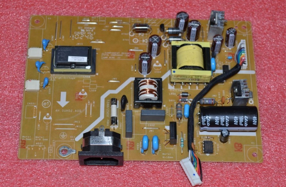 Free Shipping> 4H.OUH02.A00 power board power board 4H.0UH02.A00 alternative board-Original 100% Tested Working free shipping v203h vw226 power board 4h 0uh02 a00 lamps small mouth e193hq original 100% tested working