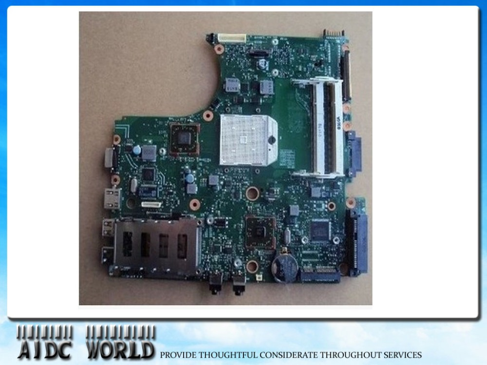Free Shipping  585219-001 Laptop motherboard for HP 4515S Compaq 4415S 4416S 4510S Notebook PC + CPU Included free shipping g4 636370 001 da0r12mb6e1 laptop used disassemble
