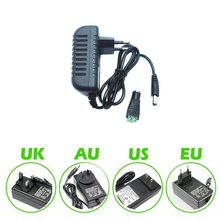 DC12V Adapter AC100-240V Lighting Transformers OUT PUT DC12V 2A Power Supply for LED Strip +Connector counter h7bx aw ac100 240v