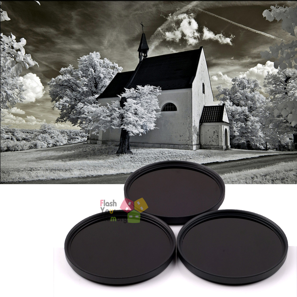62mm 760nm 850nm 1000nm Infrared IR Optical Grade Filter For Camera Lenses