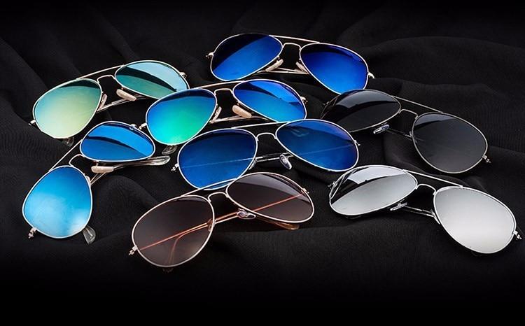 Luxury Aviator Sunglasses Women Men Brand Designer Points Sun Glasses Women Female Male Ladies Sunglass Vintage Mirror Sunglass (54)