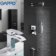 Гаппо душ смеситель для душа коснитесь смесительная Ванна душем вентиль бассейна каскадный смеситель для душа системы