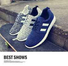 WZYCHDS  2016 spring new men's  shoes breathable  fashion casual canvas shoes