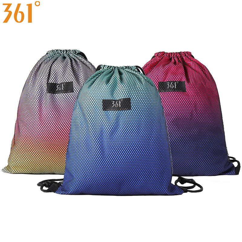 361 Sport Bag Swimming Backpack Drawstring Camping Sports Bags Outdoor Travel Pool Beach Gym Yoga Fitness Men Women Children Bag in Swimming Bags from Sports Entertainment