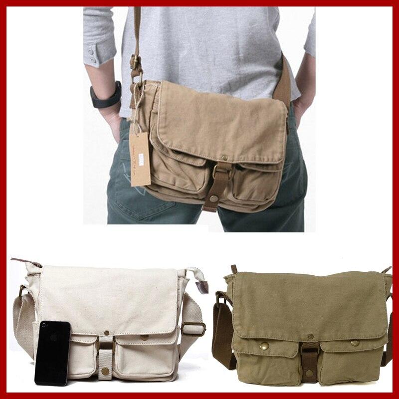 Saco de lona 100% algodão 2015 mulheres homens de sacos de viagem vintage fashion casual homens messenger bags preço de atacado frete grátis 2371