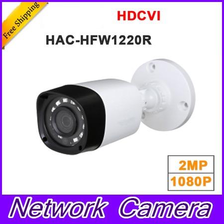 все цены на Wholesale HAC-HFW1220R 1MP HDCVI IR Bullet Camera Smart IP67 1080P 2MP HD CCTV Lite Series Brand-HAC-HFW1220R онлайн