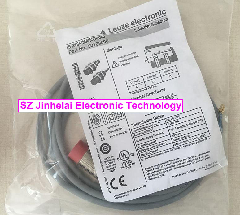IS 218MM/4NO-8N0 (IS 218MM/4NO-8NO) New and original Germany LEUZE Proximity switch, Proximity sensor цена