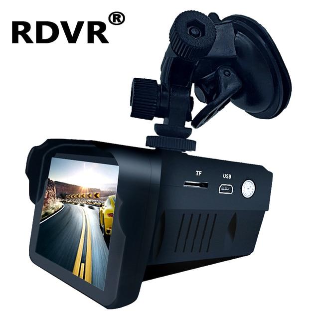 H588 car 2 in 1 Dashcam antiradar combo speed camera registar signal anti radar dvr dash cam smart radar detector with recorder