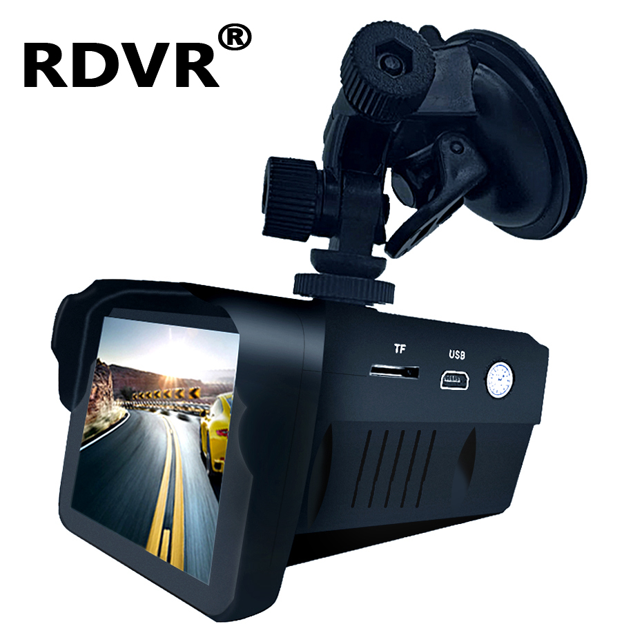Speed-Camera Recorder Combo Smart-Radar-Detector Dashcam Antiradar Registar-Signal Car title=