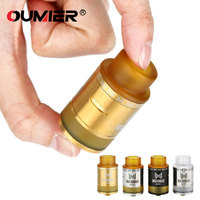 OUMIER Maximus Max RDTA 3ml Rebuildable Dripping Tank W PEI Drip Tip 2 Posts Build Deck