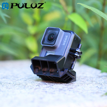 PULUZ Panorama Shoot Holder Multi-functional 360 Degree Multi-angle Instant Stand Mount Adapter for DJI OSMO Action/GoPro HERO6