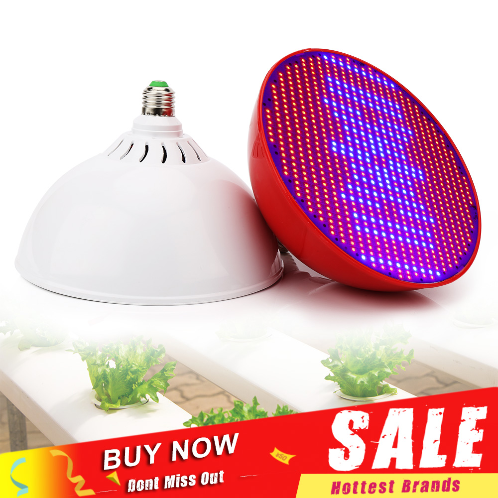 LED Grow Light 80W E27 Red Blue Fitolamp Led Growing Lamp For Indoor Plant Seeds Flowers Fruits Hydroponics Seedling Lights