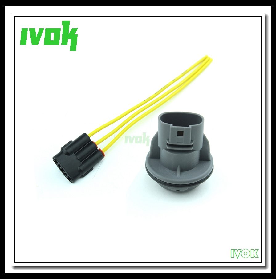 small resolution of 3 wire front turn signal light socket connector harness repair connector wire for honda