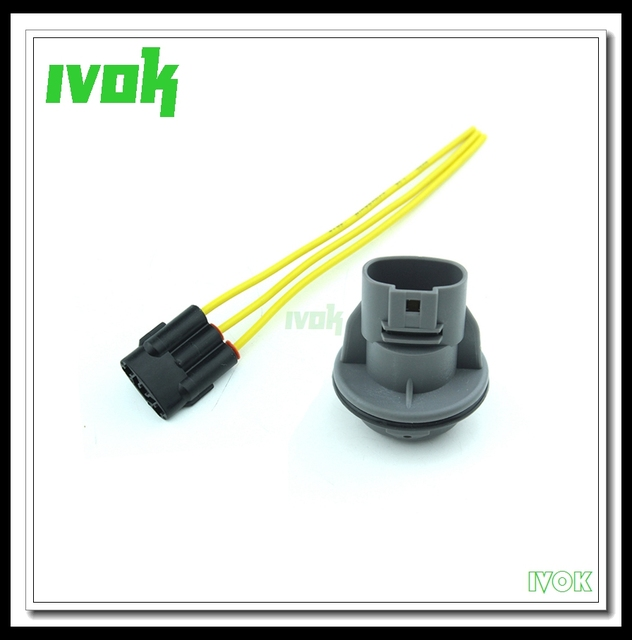 3 Wire Front Turn Signal Light Socket Connector Harness Repair Connector Wire For Honda Civic Accord_640x640 aliexpress com buy 3 wire front turn signal light socket Turn Signal Wiring Kit at n-0.co