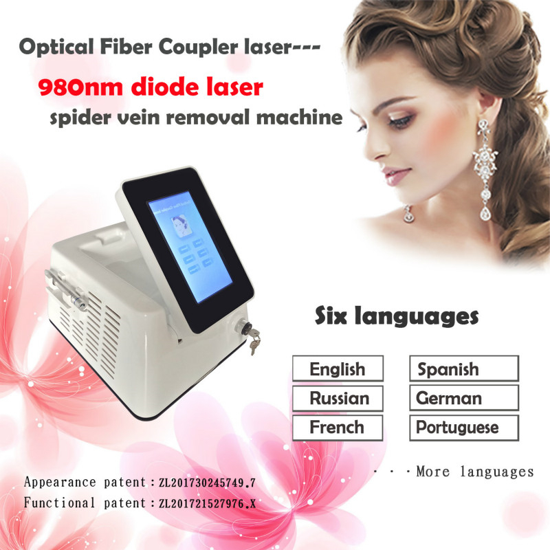 980nm Diode Spider Vein Treatment Machine 980nm Diode Laser Vascular Removal On Sale