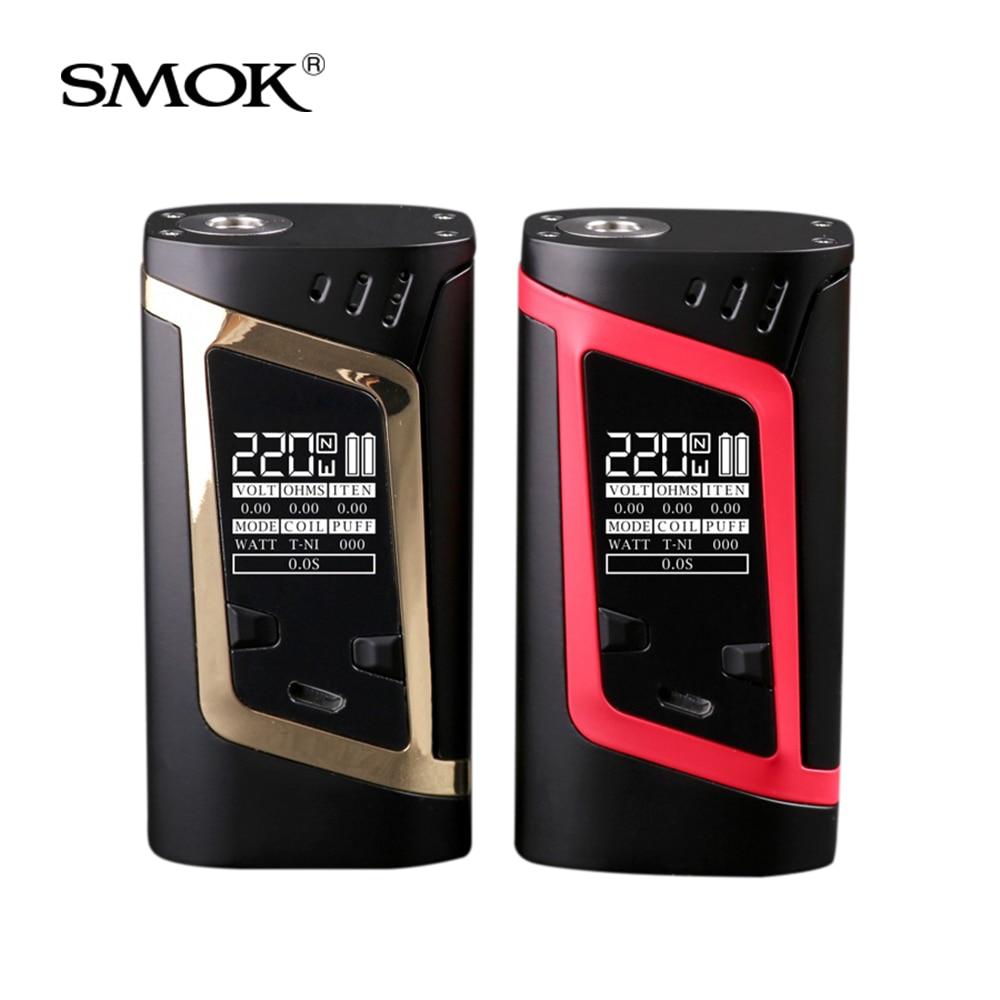 Original SMOK Alien 220W Mod Box 220W Power&Intelligent VW/TC Modes Electronic cigarette vape mod box fit tfv8 baby beast tank все цены