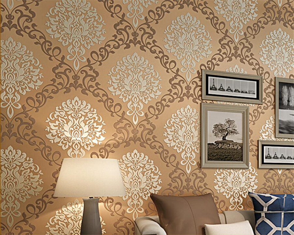 Beibehang Luxury home decoration 3D wallpaper fashion relief wallpaper full floor living room bedroom wall paper home decor beibehang non woven pink love printed wallpaper roll striped design wall paper for kid room girls minimalist home decoration