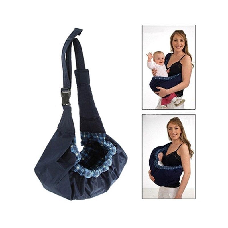 Acheter Newbealer Nouveau Né Bébé Infantile Tout Cradle Poche Ring Sling  Transporteur Enfants Wrap Bag 384a774429c