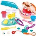 Доктор игрушки для детей ролевые игры игрушка дантист проверить Зубы Модель Набор медицинский комплект ролевые игры моделирование раннего...