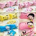 Мультфильм Doraemon Шеи Автомобиль подушку Подголовника Милый Розовый Hello Kitty KT Сиденья Крышку Ремня Безопасности Авто Шеи Подушки Для Девочек