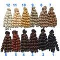 1 шт. 15 см х 100 см брюнетки блондинки черный коричневый натуральный цвет вьющиеся высокая температура кукла парики волос для 1/3 1/4 1/6 BJD SD diy