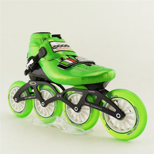 Speed Roller Inline Skates Speed Skating Professional Roller Shoes Roller Skates 4 Inline Wheels