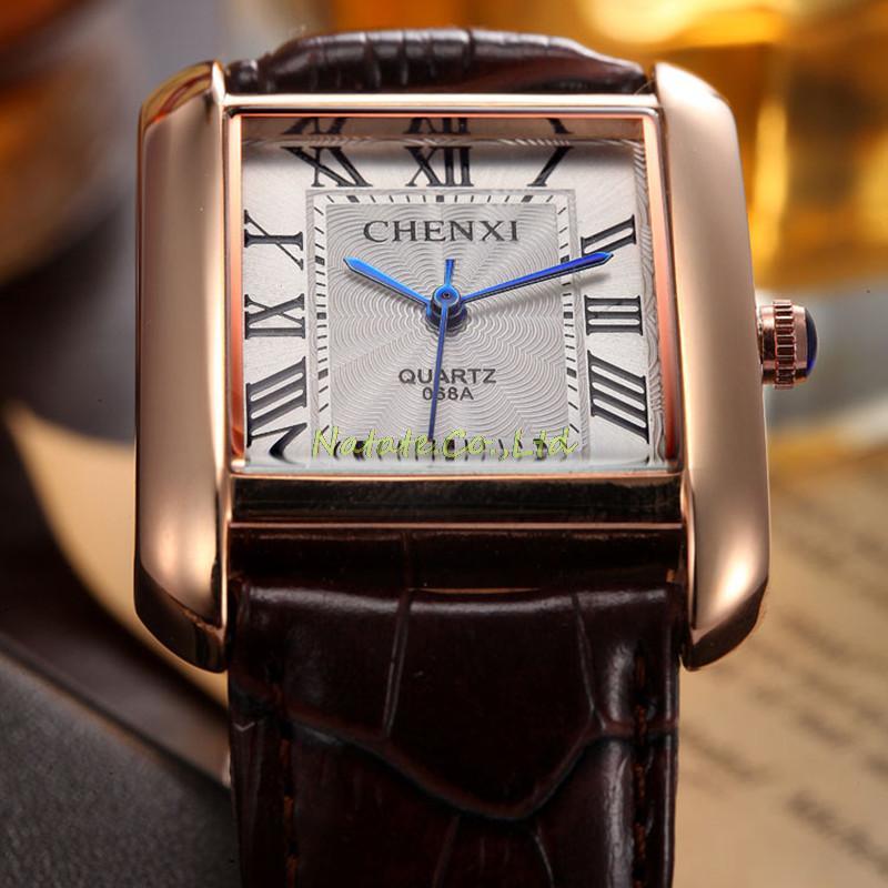 NATATE Men Waterproof Business Casual Zegarki Mężczyźni Luksusowa - Męskie zegarki - Zdjęcie 5