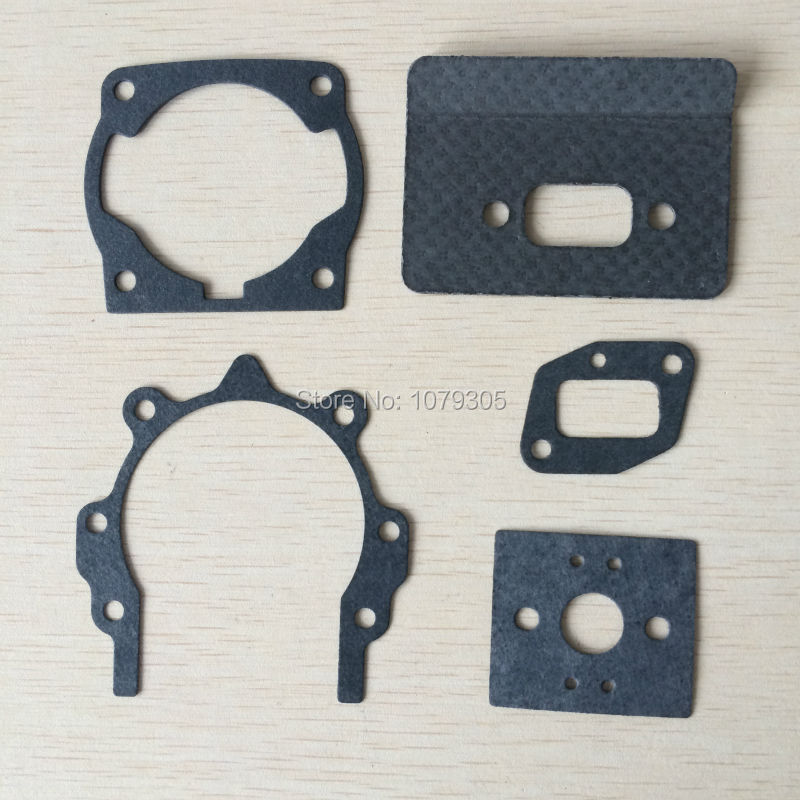 2 Sets 40-5 43CC Brush Cutter Trimmer Repair Paper Gasket Set
