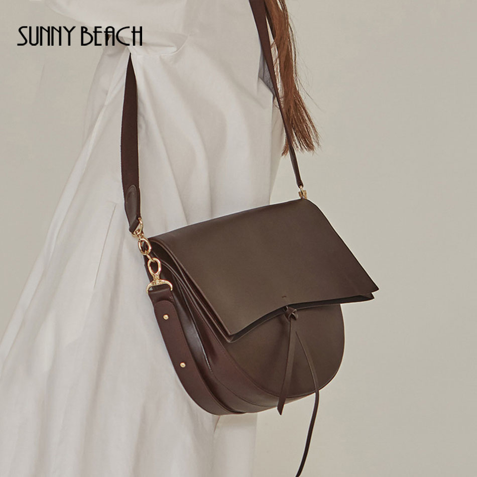 SUNNY BEACH Women Bag Messenger Vintage Shoulder Bag Female Handbag Female Crossbody Girl Bolsas pu Leather Bag Tote