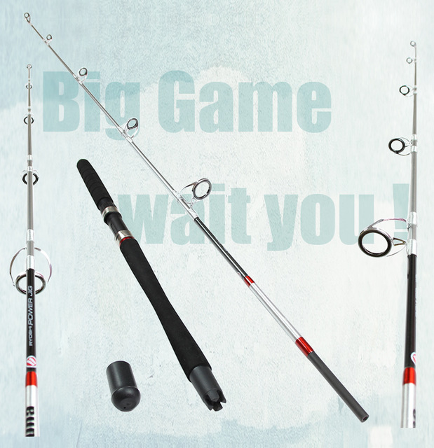 New Fishing Jigging Boat Rod Spinning 99 Carbon Sea Fishing Rod Boat Saltwater Fishing Rods White