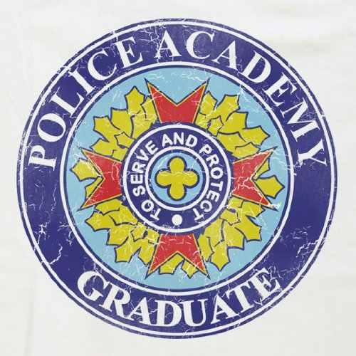 2018 летние футболки для мужчин, забавные хлопковые футболки с коротким рукавом, мужские футболки с полицейской академией, футболки-выпускники, футболки, платья