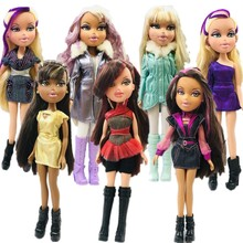 23Cm Originele Mode Action Figure Originele Bratz Pop Rood Haar En Mooie Kleding Dress Up Doll Beste Cadeau Voor kind
