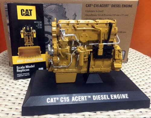 1/12 Caterpillar Cat C15 ACERT Diesel Engine by DieCast Masters 85139