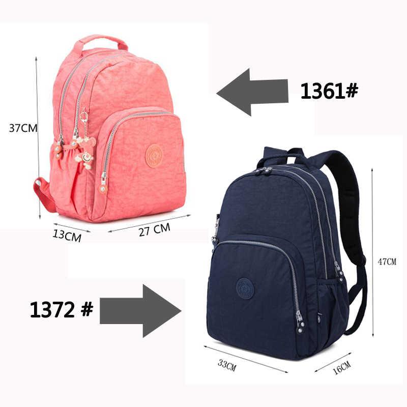 0189cb9ae7c9 ... TEGAOTE Women Backpack Nylon Mochila Feminine Backpacks for Teenage  Girls Youth Female School Shoulder Bagpack Bag ...
