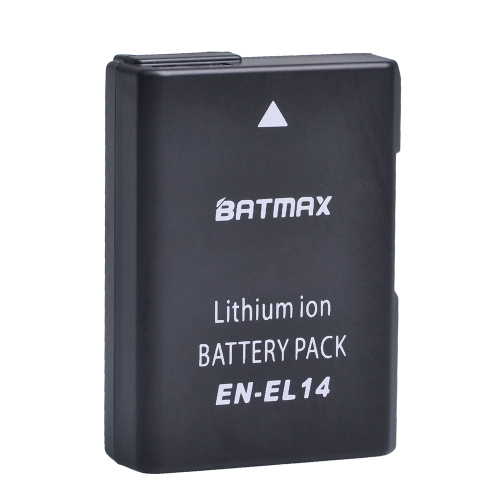 EN-EL14 EN-EL14a ENEL14 EL14 1200mAh batterie pour Nikon P7800, P7700, P7100, P7000, D5500, D5300, D5200, D3200, D3300, D5100, D3100, Df.