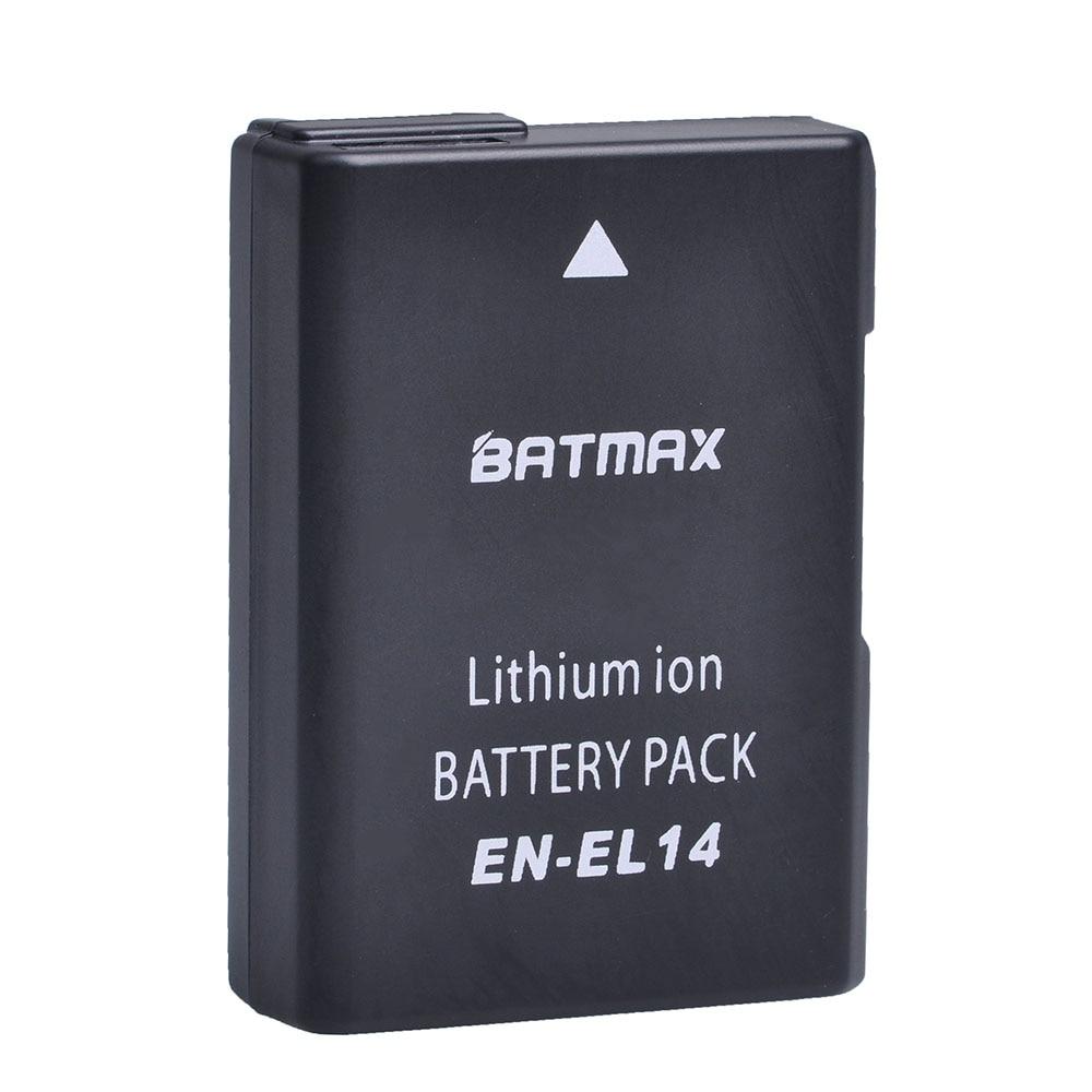 EN-EL14 EN-EL14a ENEL14 EL14 1200 mAh batería para Nikon P7800... P7700... P7100... P7000... D5500... ¿D5300... D5200... D3200... D3300... D5100... D3100 Df?