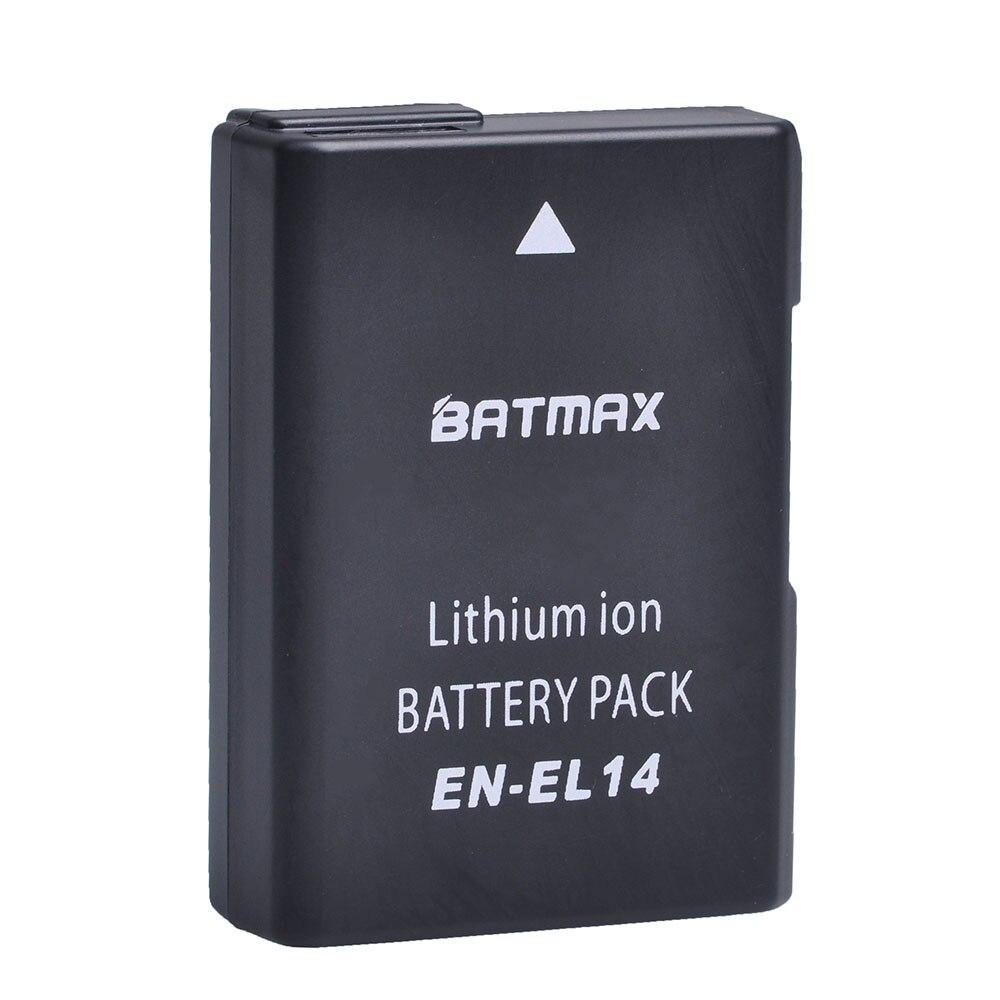 EN-EL14 ENEL14 EL14 1200 mAh EN-EL14a Batteria per Nikon P7800, P7700, P7100, P7000, D5500, D5300, D5200, D3200, D3300, D5100, D3100, Df.