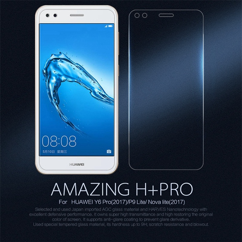 Nillkin Amazing H+Pro 0.2mm Tempered Glass for Huawei P9 Lite mini Screen Protector for Huawei Y6 Pro 2017 Dual Sim Glass Film