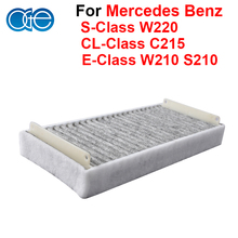 Car Parts Carbon Cabin Filter For Mercedes Benz E-Class W210 S210 S-Class W220 CL-Class C215  Accessories OEM 2108301018