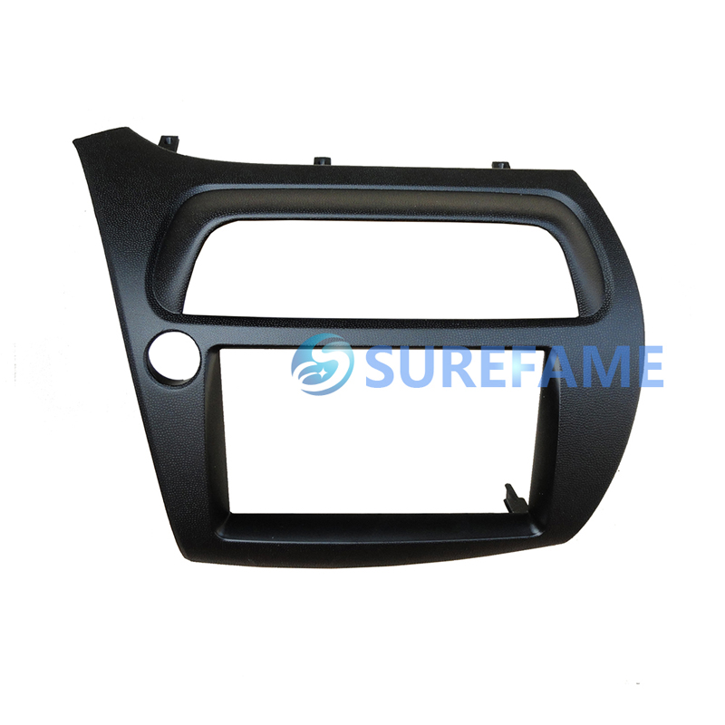 Double Din Fascia for Honda For Civic FN LHD Radio DVD Stereo Panel Dash Mounting Installation Trim Kit Face Frame Bezel Adaptor-in Fascias from Automobiles & Motorcycles    1