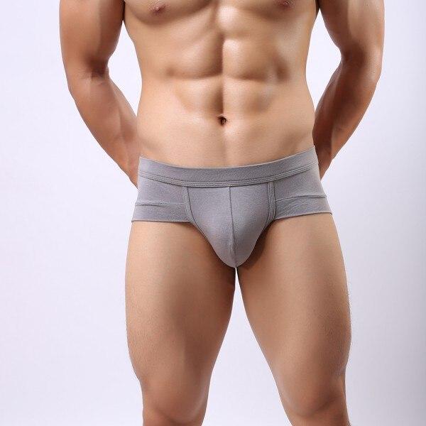 Mens Boys Breathable Underwears Boxer Briefs Shorts Bulge Pouch Underpants M-XXL